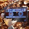 DJ Adubs Plastic Business Card
