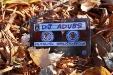 DJ Adubs Plastic Business Card