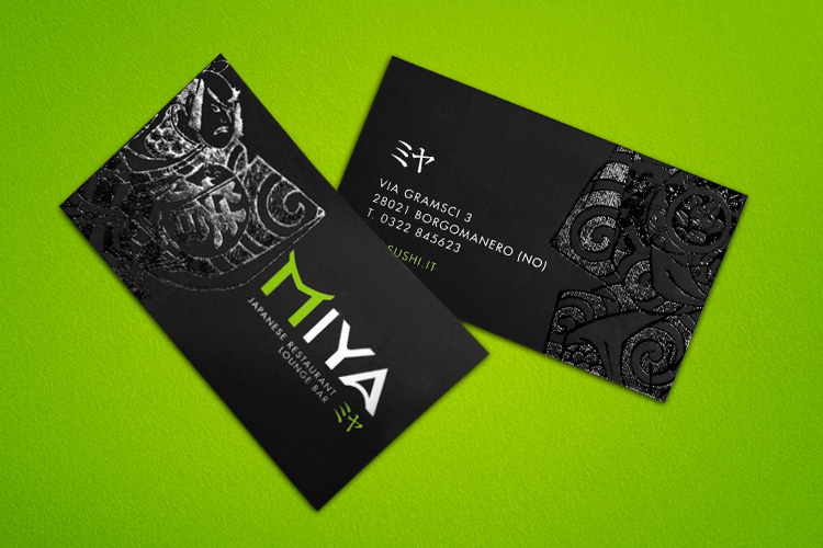 Miya business card design inspiration card nerd for Game designer business cards